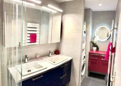 Salle de bains à Villeurbanne